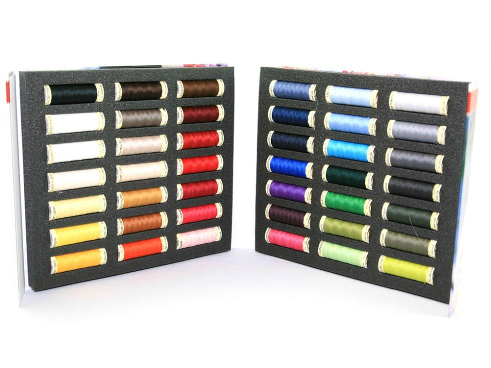 Gutermann Sew-All Threads Pack of 42
