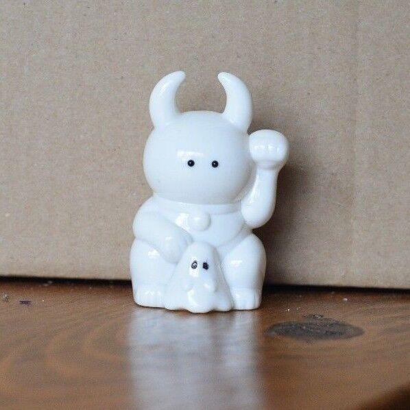 Fortune Uamou  - Real x Head - bianca 2.5 , Japanese Sofubi Vinyl giocattolo  economico in alta qualità