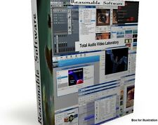 Audio Video DVD authoring Editing Conversion Complete TECH LAB for Windows DVD