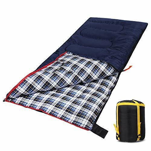 Domaker Lightweight Camping Sleeping Bag for Adults Compact Backpacking Sleep...