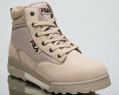 Fila Grunge Mid New Men Lifestyle Shoes Feather Gray 2018 Sneakers 1010107 00J | eBay