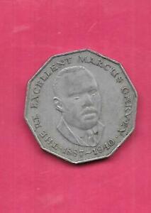 jamaica 1975 50 cent coin