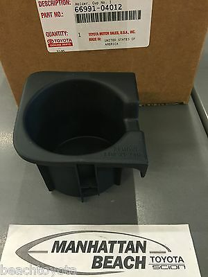 2010-2015 Tacoma W//BUCKET SEATS//AUTO TRANS LEFT Front Console Cup Holder Insert
