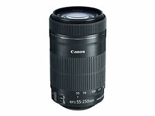 NEW Canon EF-S 55-250mm f4-5.6 IS II Zoom Lens White Box #CN168X