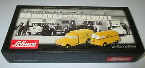 Schuco-Piccolo-50171054-Jeu-Deutsche-Bundespost-Neuf-Emballage-D-039-Origine