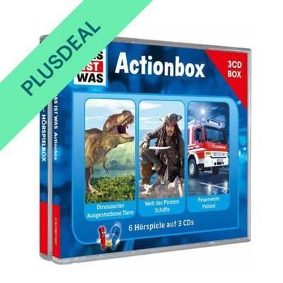 WAS IST WAS 3-CD-Hörspielbox: Action und Abenteuer