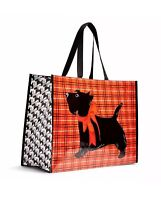 Vera Bradley Market Tote In Scottie Dogs - Cute Shopping Bag
