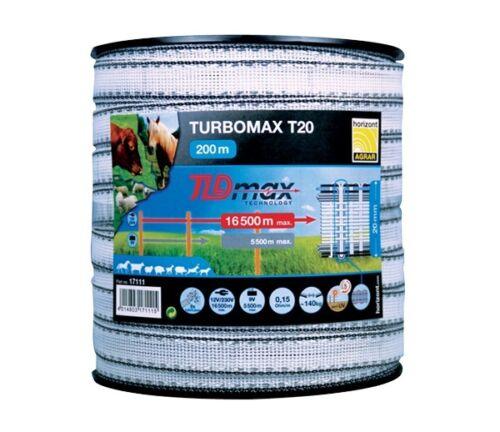 Horizont TURBOMAX T12//T20//T40-200m Breitband Weidezaunband