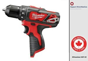 New-Milwaukee-2407-20-M12-3-8-Drill-Driver-Bare-Tool