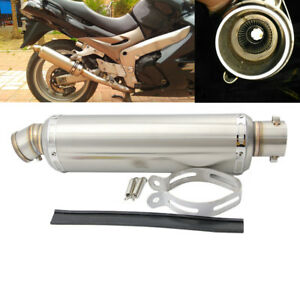 Universal-Retrofit-Motorcycle-Exhaust-Pipe-Slip-Muffler-DB-Killer-Silencer-51mm