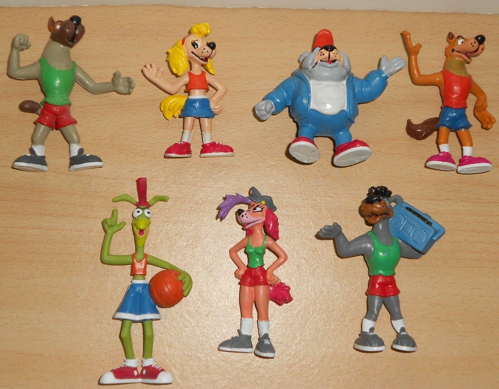 Película de la fiebre Cesta Set Completo Figura Estatuilla Baloncesto NBA década de 1980