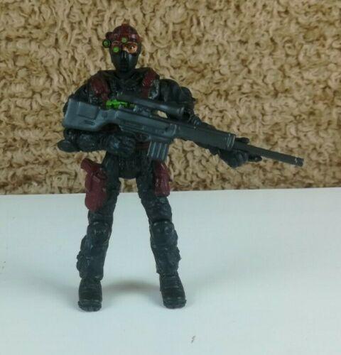 "Lanard The Corps Covert Hugo /""Shadow/"" ORTIZ avec fusil Action Figure"