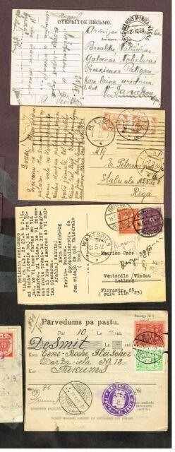 LATVIA  POSTCARDS      (SEPT7,3