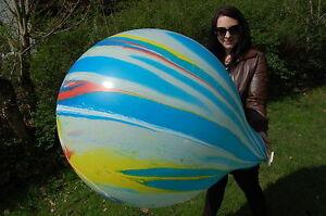1-x-Cattex-35-034-Riesenluftballon-MARBLE-MARMORIERT-AGATE