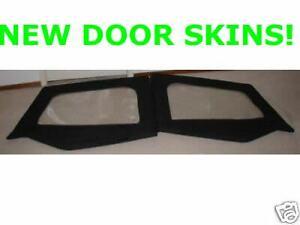Upper-half-Door-skinS-black-PAIR-89615-1988-1995-FOR-Jeep-Wrangler-YJ