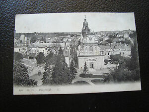 Francia-Tarjeta-Postal-1909-Blois-Vista-General-cy68-Francesa