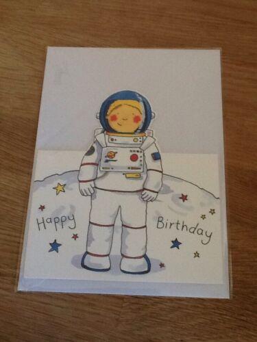 astronaut Children's birthday card Phoenix trading space