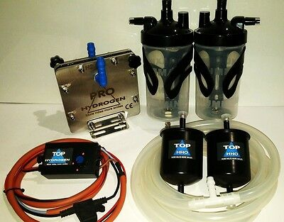 H2 PURE HYDROGEN GENERATOR DM-45, FUEL ECONOMY KIT for cars CCPWM+HHO function.