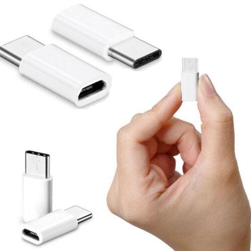 2PC USB-C Type-C to Micro USB Data Charging Adapter for Oneplus 3 Three