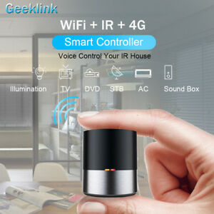 Details about Geeklink Smart Home WIFI IR 4G Remote Control AC TV DVD  Android iOS APP Control