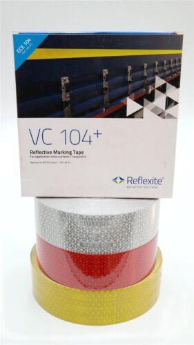 selbstklebend für LKW PVC Planen uvm ECE104 6,90€//m Reflektorband Reflexfolie