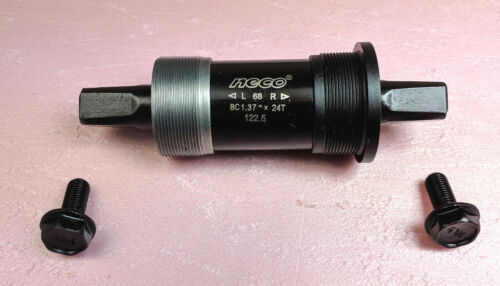 NECO Innenlager 122,5 mm BSA JIS Vierkant