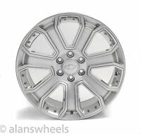 "4 Chevy Suburban Tahoe Hyper Silver Chrome Inserts 20"" Wheels Rims Lugs 5660"