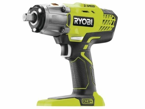 Ryobi R18IW3-0 ONE 18V 3 Speed Impact Wrench 18 Volt Bare Unit