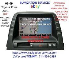 Toyota Prius Navigation Display MFD Unit Repair Service for sale