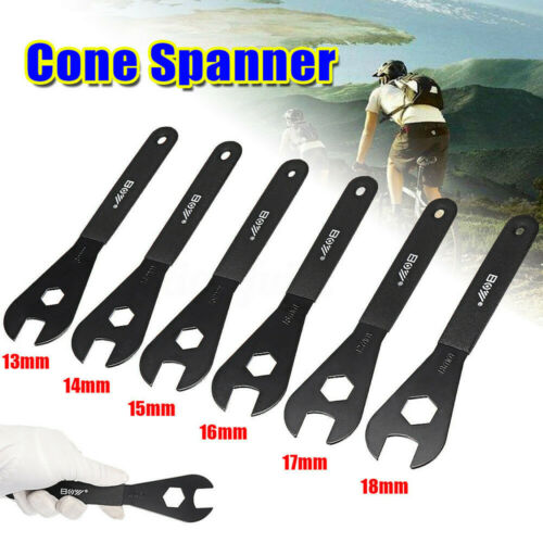 13mm 14mm 15mm 16mm 17mm 18mm Cone Spanner Wrench Axle Spindle Bicycle Bike Tool