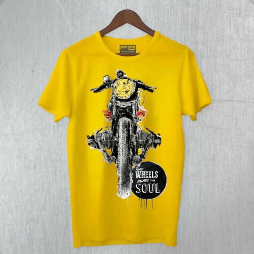 T-Shirt BMW Boxer Shorts GS R1200 R1250 Inspired Move the Soul Coffee Racer Art.