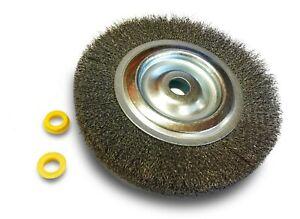 Kibros-235152AT-Brosse-circulaire-metallique-acier-pour-touret-150-mm