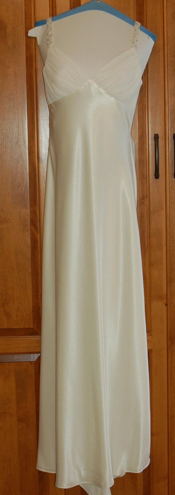 Beautiful Gown Off Weiß Größe 10