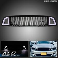Front Upper Led Honeycomb Style Grille Fit For 2013 2014 Ford Mustang Non Shelby Fits Mustang