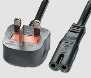 UK POWER CABLE LEAD FOR CANON PIXMA MP250 MP270 MP272 MP280 PRINTER