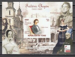 Chad-2010-Cinderella-issue-Composer-Frederick-Chopin-IMPERF-s-sheet-5