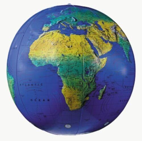 """12"""" EARTH BALL GLOBE-INFLATABLE WORLD GLOBE/ BALL Globe"""