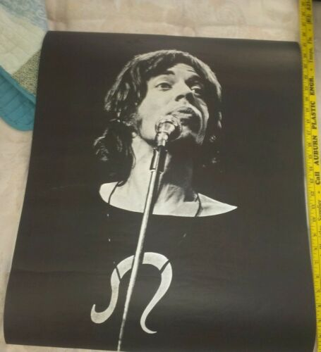 Amazing Original vintage Mick jagger poster