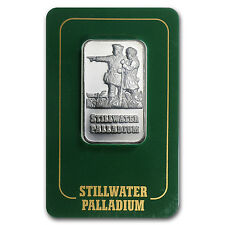 1 oz Palladium Johnson Matthey Lewis & Clark Bar - In Assay Card - SKU #24236