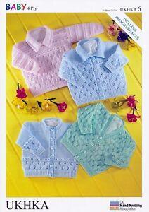 Stylecraft-Knitting-Pattern-Baby-4Ply-Cardigans-amp-Sweater-UKHKA6