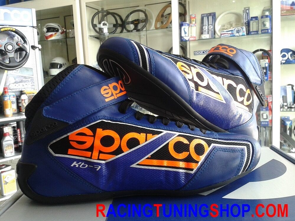OFFERTA SCARPE KART SPARCO NEW SHADOW blue TAGLIA 47 KART SHOES BOOTS SIZE 47