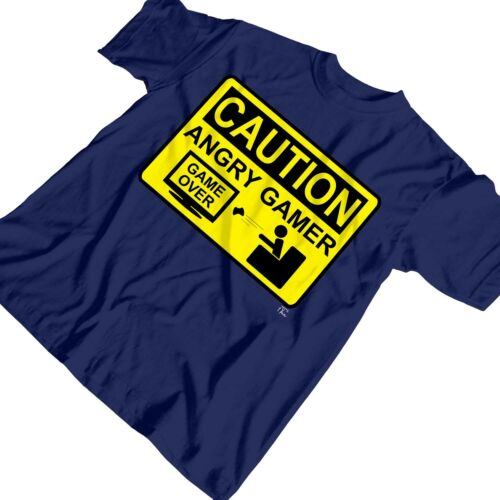 1Tee Enfants Garçons prudence Angry Gamer T-Shirt