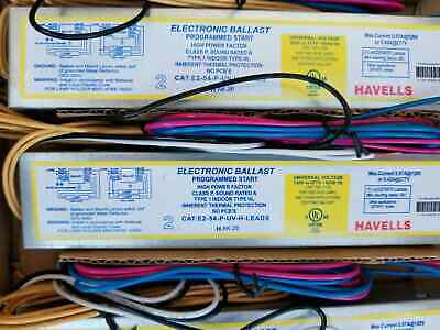 F54 T5 1 or 2 lamp Fluorescent BALLAST LOT of 10 w leads  BRAND NEW