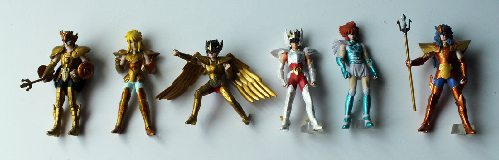 HGIF Saint Seiya  6 Bandai Gashapon Minifigure