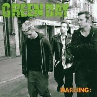 GREEN DAY  - WARNING  CD HARD ROCK-METAL-PUNK-GROUNGE