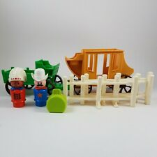Vintage 1982 Fisher Little People Western Town 934