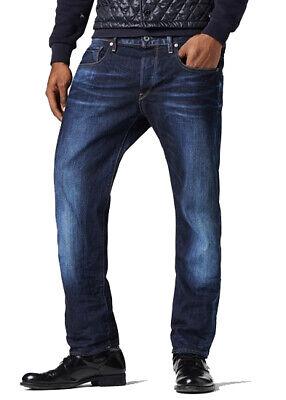 G STAR RAW Jeans 3301 Coupe Droite Homme Designer Denim Jeans Dark Aged | eBay