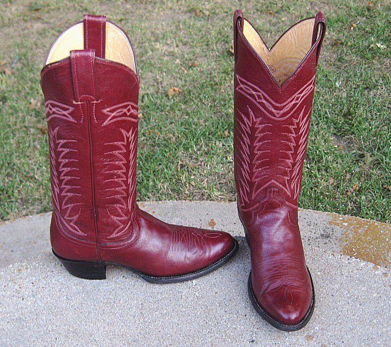 JUSTIN  COWGIRL Stiefel  LADIES  Stiefel 6.5'B 13e6ba