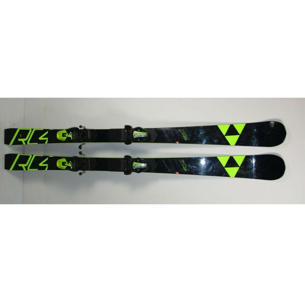 2019 Fischer RC4 World Cup GS JR Skis 130cm with Fischer RC4 Z9 Bindings (MH16)