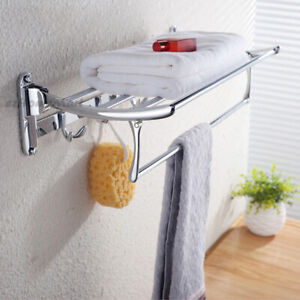 Modern Bathroom Wall Towel Rack Rail